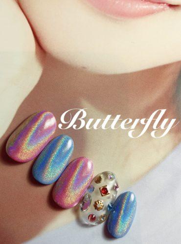 マツエク・ネイルサロンbutterfly平塚店のネイル